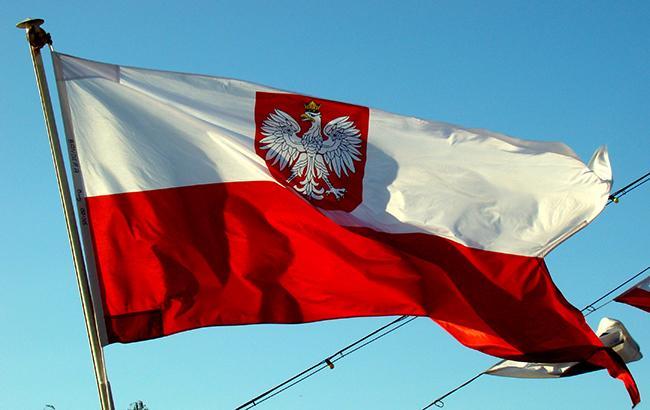 У Варшаві вивісили мапу Польщі з українськими землями (фото)
