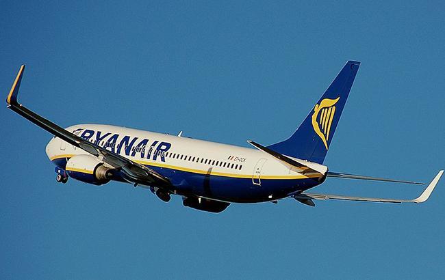 Фото: літак Ryanair (wikimedia.org)