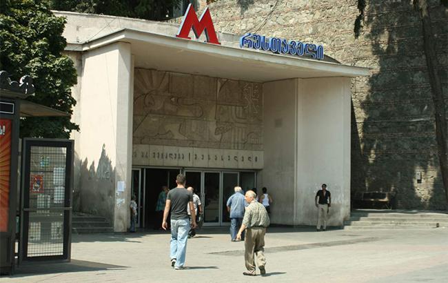 Фото: метро в Тбилиси (wikimedia.org/A. Muhranoff)