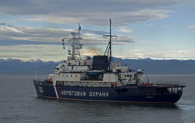 Россия задержала в Крыму рыболовное судно Украины