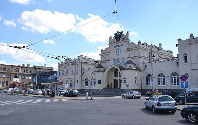Фото: железнодорожный вокзал Люблина (wikipedia.org)