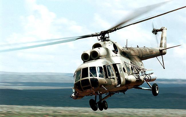 В Киргизии разбился военный вертолет Ми-8, есть пострадавшие