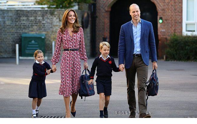 """Кейт Миддлтон и принц Уильям """"разрываются"""" между обучением детей и своими обязанностями во время домашней изоляции"""