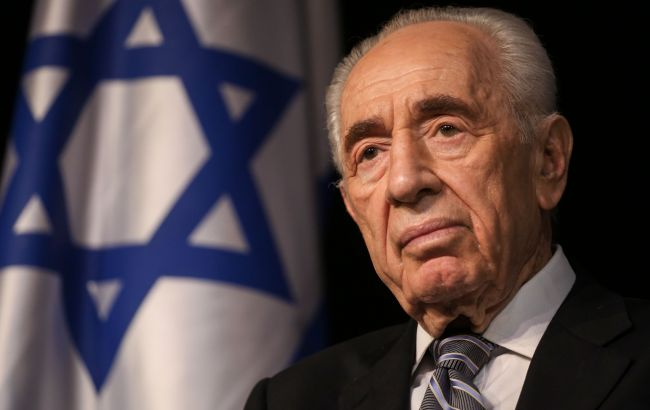Фото: екс-президент Ізраїлю Шимон Перес