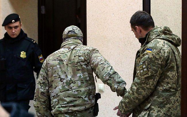 У РФ продовжили термін слідства у справі військовополонених українських моряків