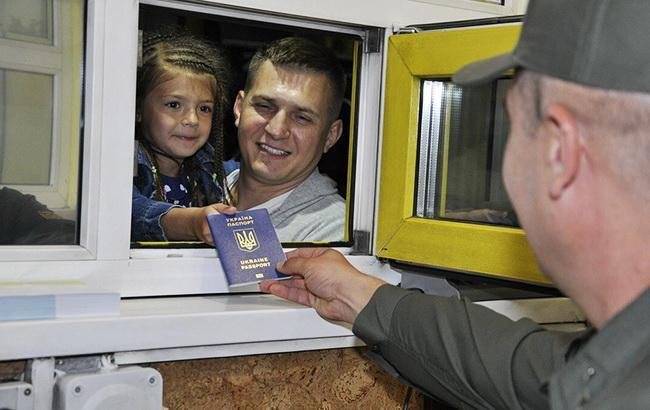 Безвизовым режимом с ЕС пользуются до 12 тыс. украинцев в сутки, - Госпогранслужба