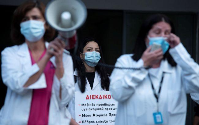 В Афінах сталися заворушення через продовження карантину