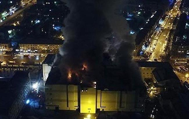 Число загиблих при пожежі в Кемерово досягло 64