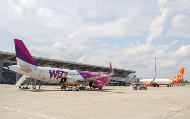У Ярославского сообщили о росте пассажиропотока аэропорта Харькова почти на 40%