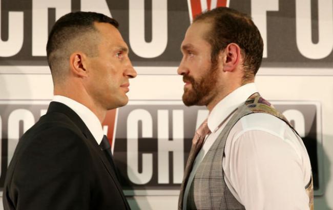 Тайсон Фьюри откажется от чемпионского пояса ради реванша с Кличко
