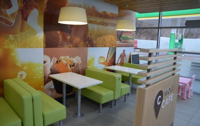 Сеть автозаправок WOG открывает первое кафе в центре Киева