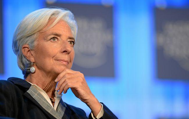 Лагард: єврозона пройшла пік коронакризи