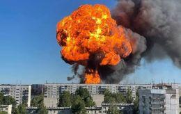 В России взорвалась АЗС. Пострадали 16 человек, огонь не могут потушить