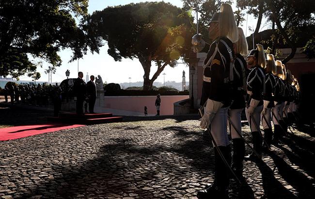 Фото: встреча президентов (twitter.com/APUkraine)