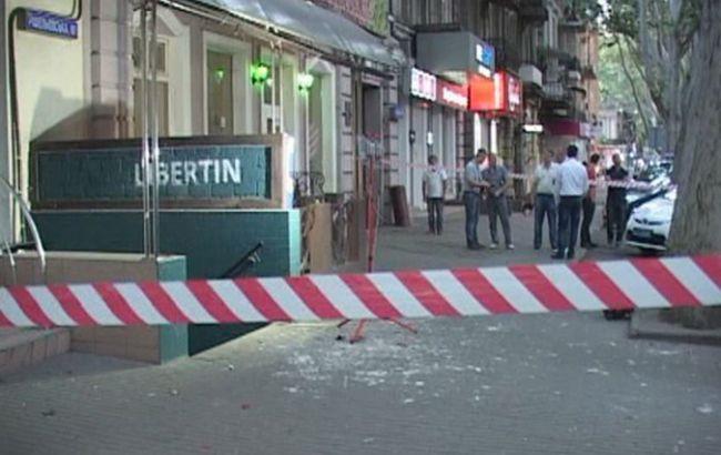 В Одессе произошел взрыв в баре, пострадал охранник