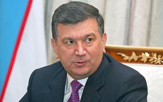 Фото: прем'єр-міністр Узбекистану Шавкат Мирзиеев