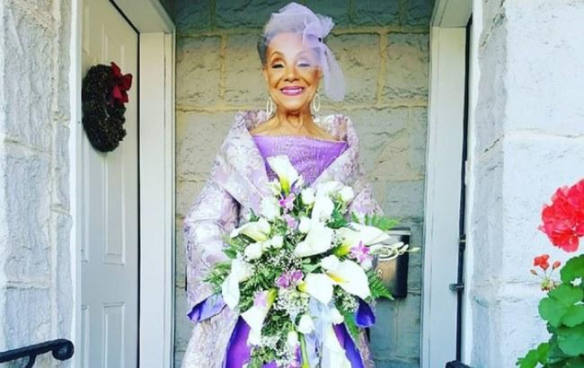 Фото: 86-річна наречена Міллі Тейлор-Моррісон (obozrevatel.com)