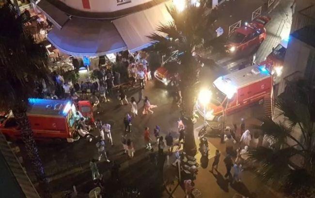 Фото: паника во Французской Ривьере