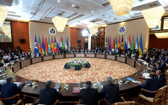 Фото: саммит СНГ