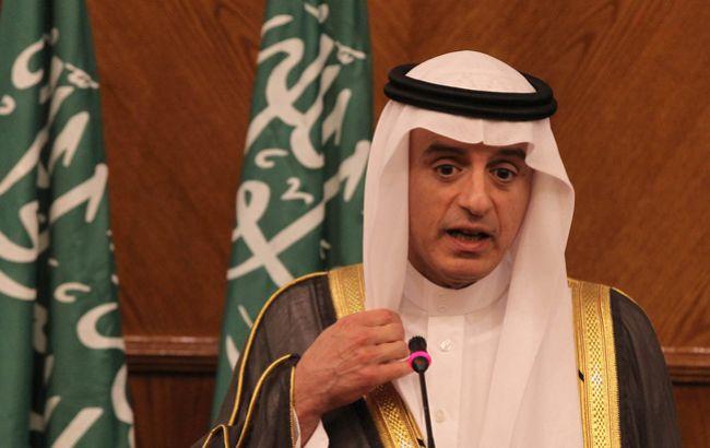 Фото: глава МИД Саудовской Аравии Адель аль-Джубейр