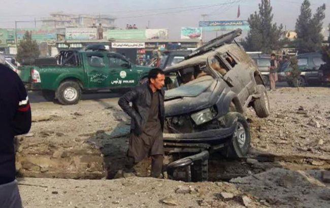 Фото: место теракта в Кабуле