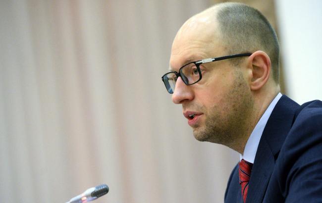 Яценюк: санкции с РФ снимать никто небудет