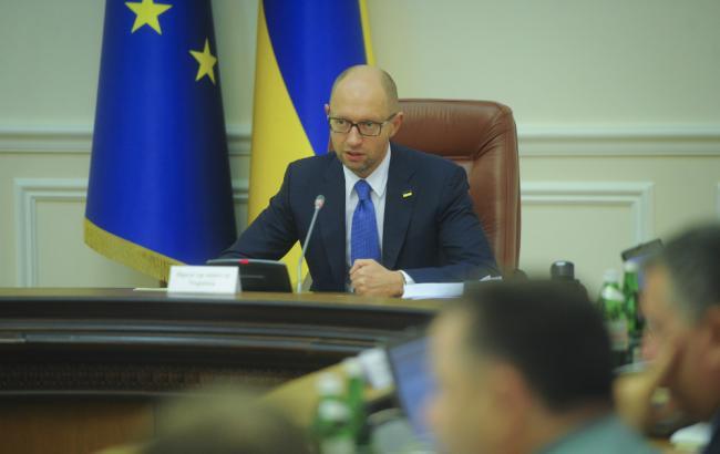 Фото (прес-служба Кабміну): Арсеній Яценюк