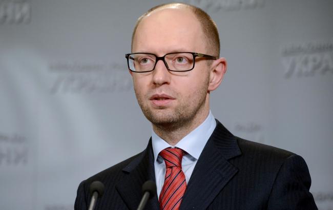 Яценюк розповів, коли Кабмін введе економічні контрзаходи проти РФ