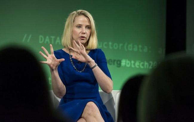 Фото: президент і головний виконавчий директор Yahoo! Inc Марісса Маєр (Twitter @business)