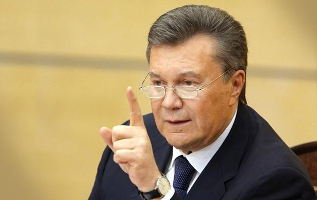 Янукович готов дать показания по Skype