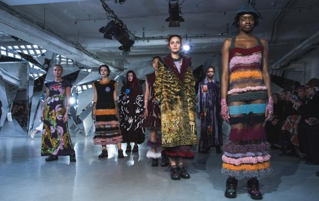 Украинский бренд Yana Chervinska представил коллекцию на London Fashion Week