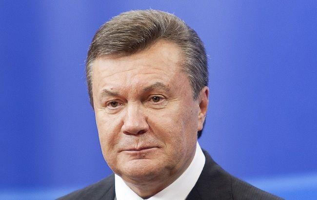 Фото: бывший президент Украины Виктор Янукович