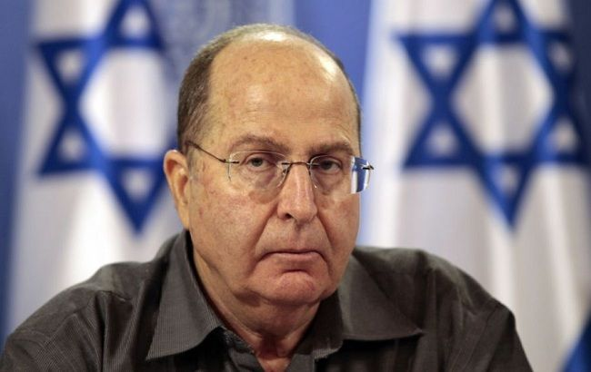 Фото: міністр оборони Ізраїлю Моше Яалон