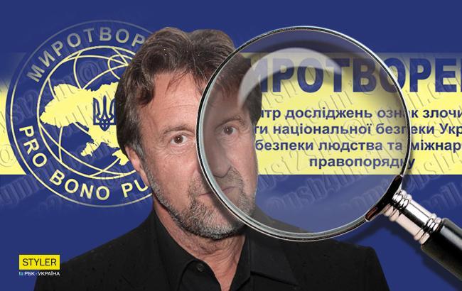 «Занесли російського блазня»: Ярмольник потрапив добази «Миротворця»