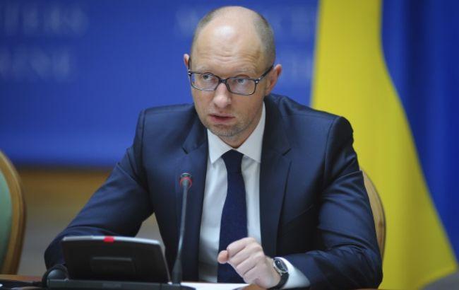 Яценюк заявил оросте ВВП Украины