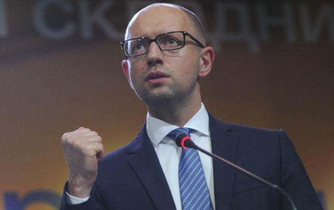 Яценюк: Кабмин утвердит всреду программу сотрудничества сНАТО на2016г