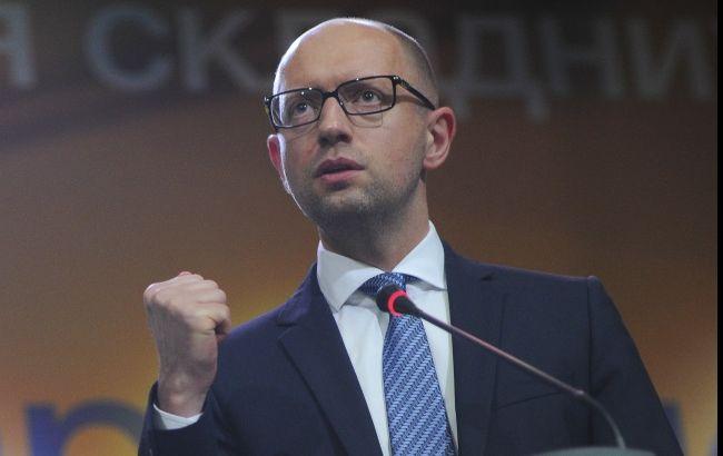 Рада завтра може розглянути проект постанови про відставку Яценюка