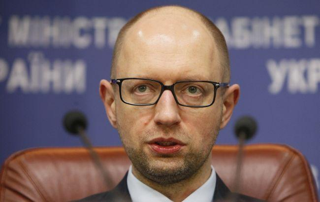 Фото: премьер-министр Украины Арсений Яценюк