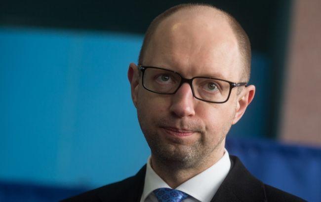 Фото: Арсений Яценюк уходит в отставку