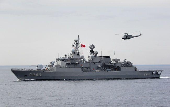 Фото: корабель F-240 TCG Yavuz