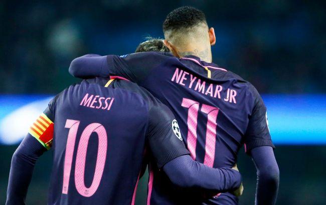 """""""Барселона"""" отказалась от идеи вернуть Неймара нынешним летом"""