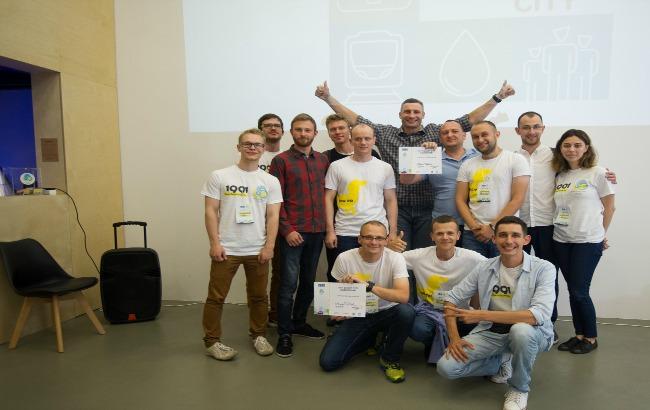 Фото: у Києві реалізують інфраструктурні проекти стартапів (прес-служба 1991 Open Data Incubator )