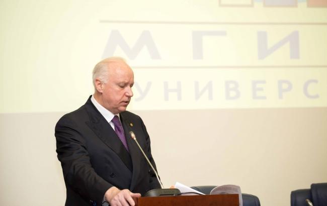 Фото: Александр Бастрыкин (Следственный комитет России)