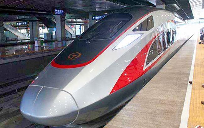 Фото: поезд Fuxing (youtube.com)