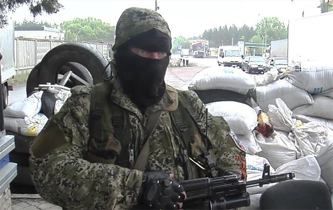 Фото: боевики на Донбассе (youtube.com/Ruptly TV)