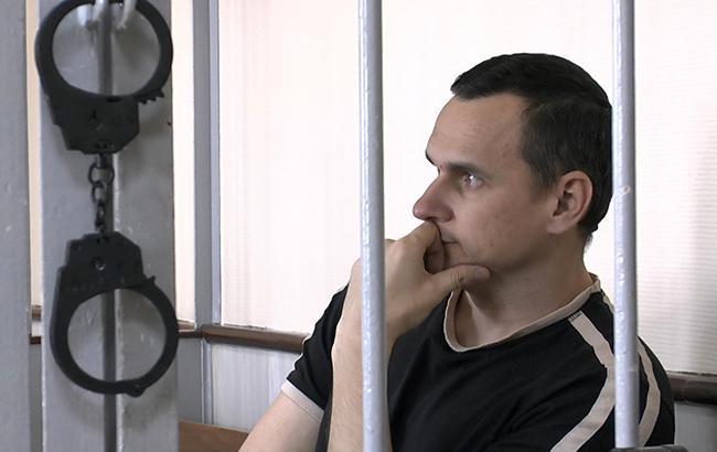 Появилось первое за два года видео с Олегом Сенцовым в российской тюрьме