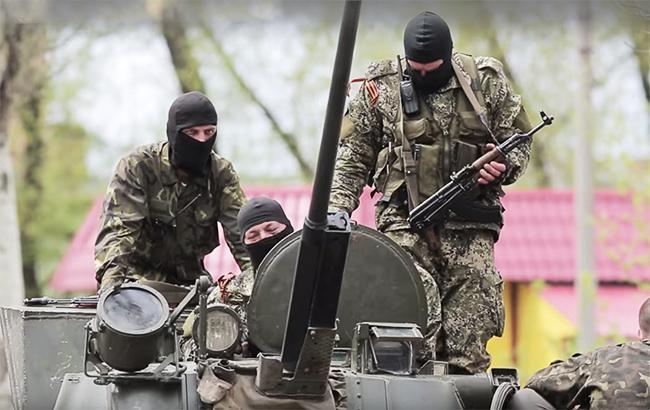 Фото: боевики на Донбассе (youtube screenshot/RafaVideoart channel)