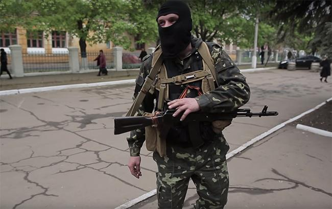 Фото: бойовики на Донбасі (youtube screenshot/RafaVideoart channel)