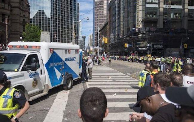В Торонто сталась стрілянина під час 2-мільйонного параду, є потерпілі