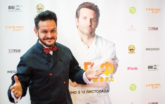 """Украинские звезды собрались на премьере самого """"вкусного"""" фильма года"""